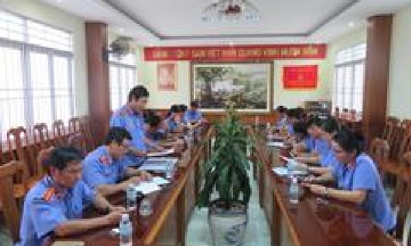 Kết luận thanh tra việc quản lý, sử dụng tài sản công tại Văn phòng Viện KSND tỉnh Khánh Hòa.